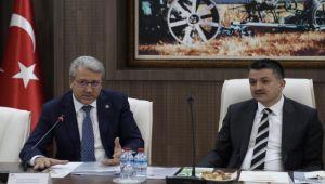 İki önemli kişi İzmir felaketi için bir arada