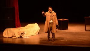 Torbalı'da Gogol'un eseri sahnelendi