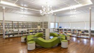 """""""Şato Kütüphanesi"""" açıldı"""