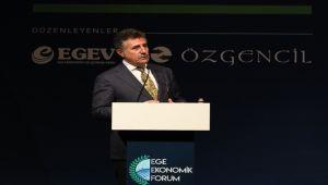 Başkan Sandal, Ege Ekonomik Forumu'nda
