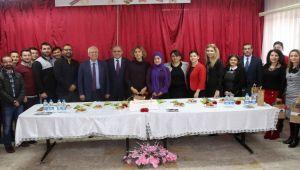 Selvitopu'dan 24 Kasım Öğretmenler Günü ziyareti