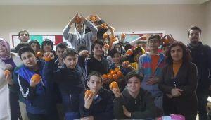 Okullarda 'C' Vitamini Desteği