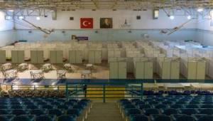 Büyükşehir evsizler için Evka-4 Naim Süleymanoğlu Spor Salonunu açtı