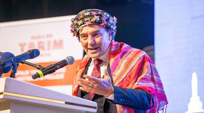 Tunç Soyer İzmir'in Yeni Tarım Politikasını Anlattı