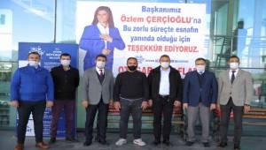 Aydın Büyükşehir Belediyesi'nden Esnafa Destek