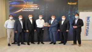 İnci GS Yuasa, 'Altın İhracat Ödülü'ne Değer Görüldü