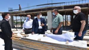 Başkan Çelik Sancaklıbozköy Projesini Yerinde İnceledi