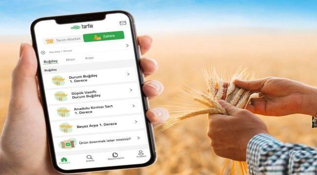 Çiftçi Hasat Zamanına Teknolojinin Gücüyle Giriyor