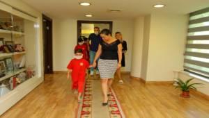 Başkan Sengel, Mardin'in Çocuklarını Ağırladı
