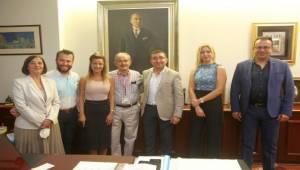 Eskişehir Barosundan Başkan Büyükerşen'e Ziyaret
