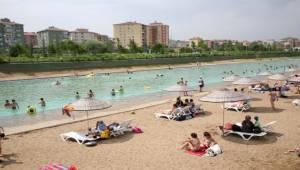 Eskişehir'de Plaj Sezonu Açılıyor