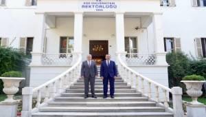 Bitlis Eren Üniversitesi Heyeti, Ege'yi ziyaret etti