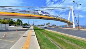 Göztepe Şehit Kerem Oğuz Erbay Köprüsü yenileniyor