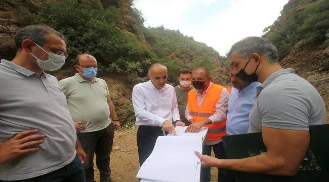 Kelebek Barajı'nda Sulama İnşaatı Başladı