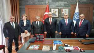 Bakan Mehdiyev 'den EÜ Zİyareti